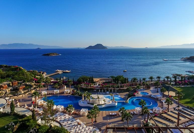 Sianji Well-Being Resort, Bodrum, Blick vom Hotel
