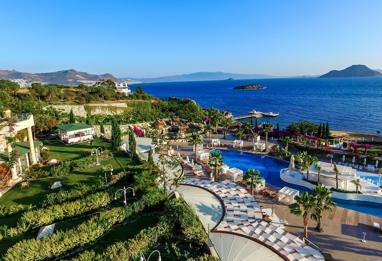 Sianji Well-Being Resort, Bodrum, Aerial View