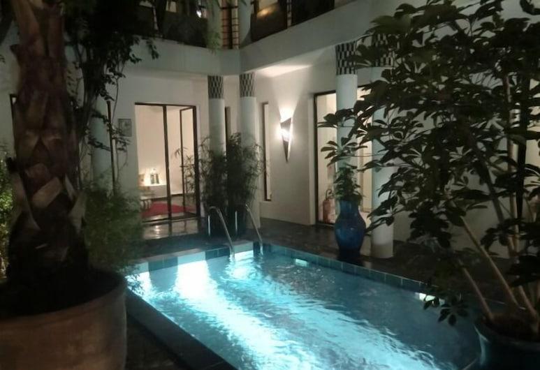 七那民宿, 馬拉喀什, 室外泳池