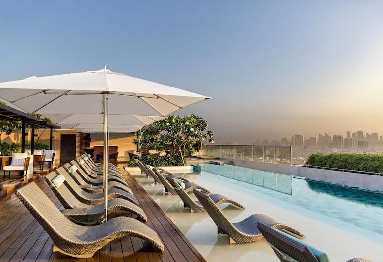 馬尼拉萬豪酒店, 帕謝, 室外泳池