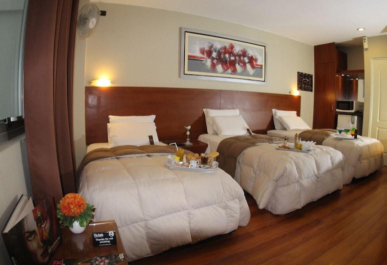 Hotel Vila Santa, Lima, Habitación triple, Habitación
