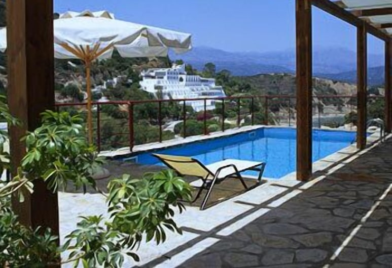 Istron Villas, Agios Nikolaos, Kolam Terbuka
