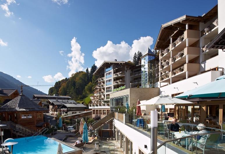 The Alpine Palace, Saalbach-Hinterglemm, Piscina al aire libre