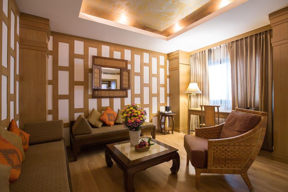 Corner Suite - סלון