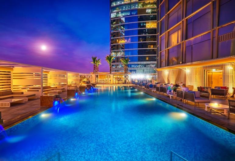 Media One Hotel Dubai, Dubai, Utendørsbasseng