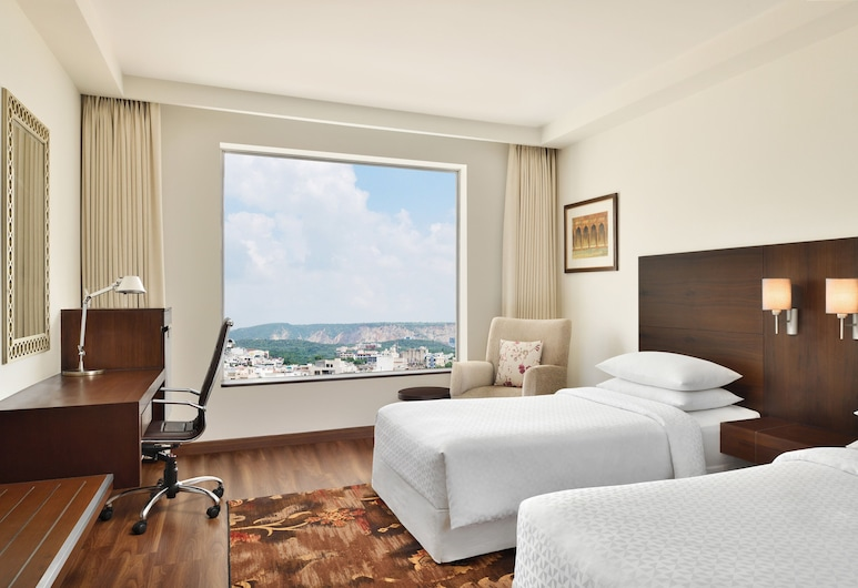 Four Points by Sheraton Jaipur, City Square, Jaipur, Club Room, 1 Double Bed, Non Smoking, City View, Guest Room