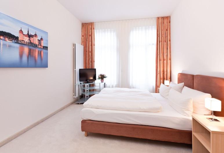 Aparthotel Neumarkt, Dresde, Appartement, Chambre