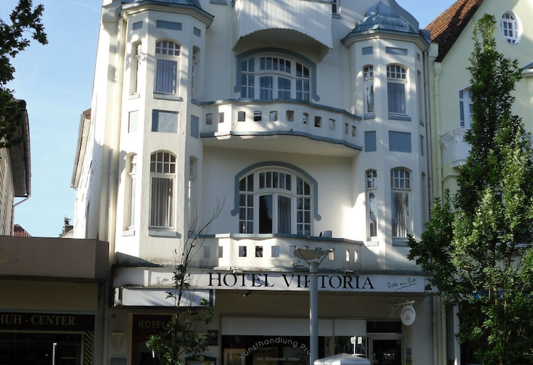 Hotel Viktoria, Bad Pyrmont, Pročelje hotela