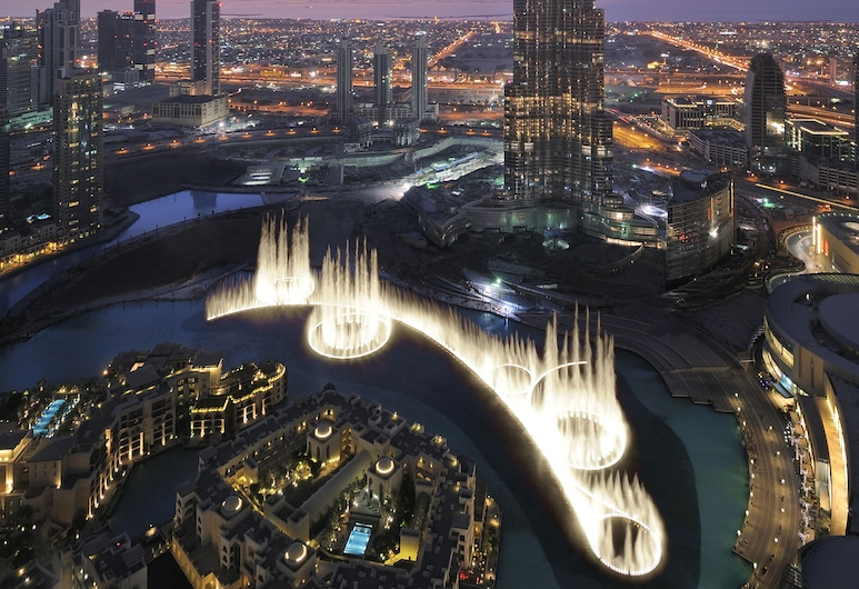 Armani Hotel Dubai, Dubai, Ansicht von oben