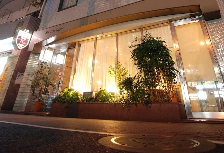 池袋新星飯店, 東京, 飯店入口