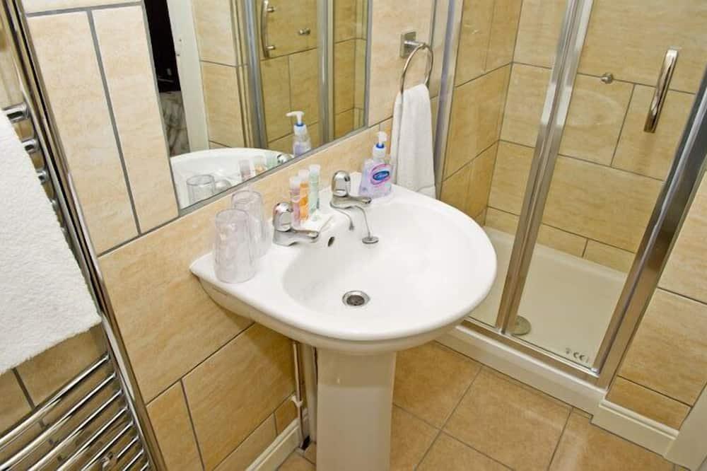 Dvojlôžková izba typu Basic, vlastná kúpeľňa - Kúpeľňa