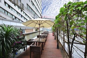 在深圳的新安酒店照片