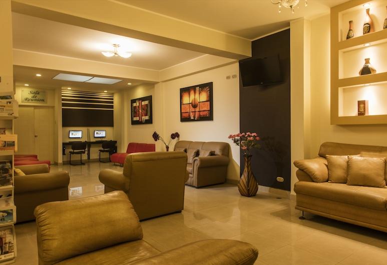 Hotel Ferre Miraflores, Lima, Lounge i lobbyn