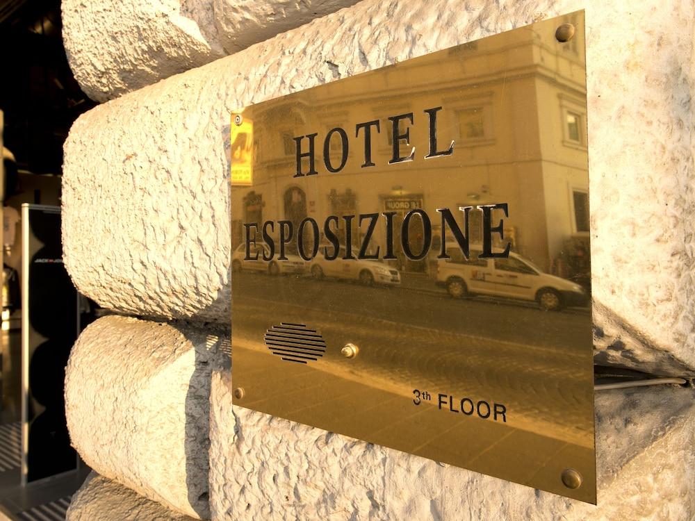 هوتل إسبوسيزيون روما, Rome