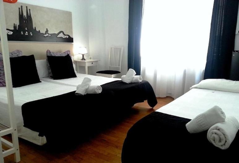 Petit Hotel, Barcelona, Tremannsrom, eget bad, Gjesterom