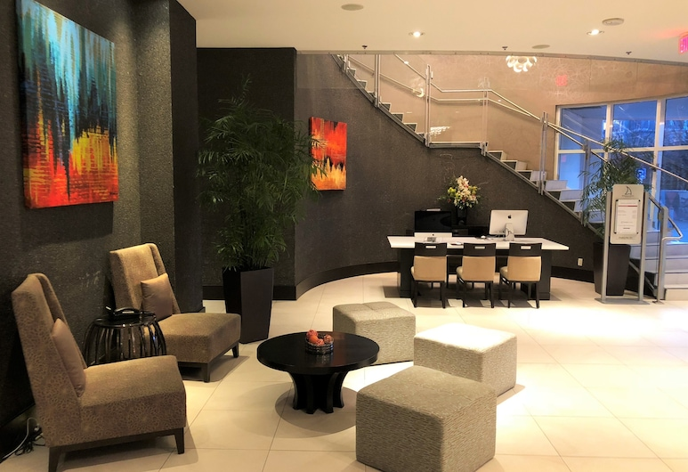 Pinnacle Hotel at the Pier, North Vancouver, Lobby Sitting Area