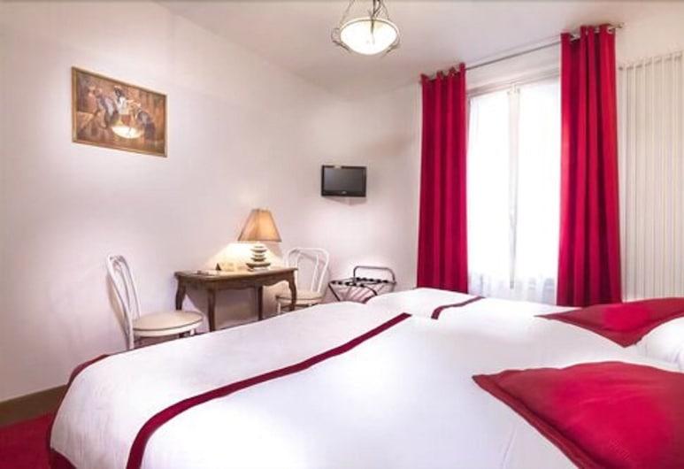 오텔 르 클로 달레시아, 파리, 트리플룸, 객실
