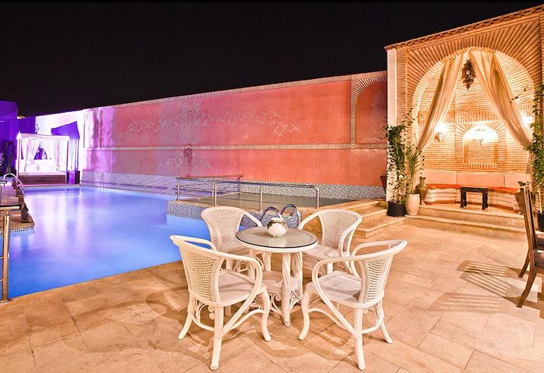 Hotel Lawrence d'Arabie, Marrakech, Basen odkryty