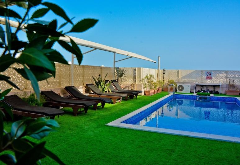 Al Maha International Hotel, Μασκάτ, Αίθριο/βεράντα