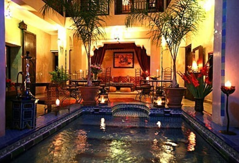 青金石庭院酒店, 馬拉喀什, 酒店內