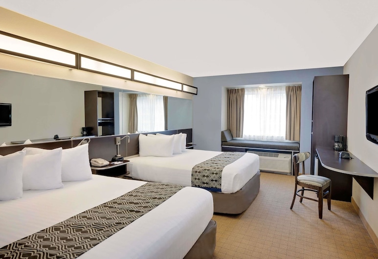 Microtel Inn & Suites by Wyndham Geneva, Geneva, Standard tuba, 2 laia voodit, Tuba
