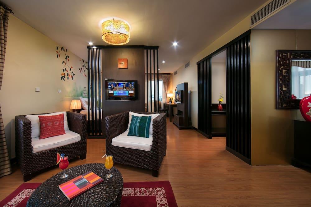 Anise Suite Park View - Wohnzimmer