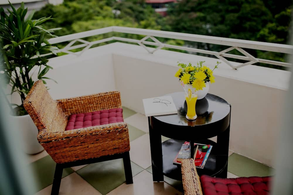 Honeymoon-Suite, Balkon, Parkblick - Balkon