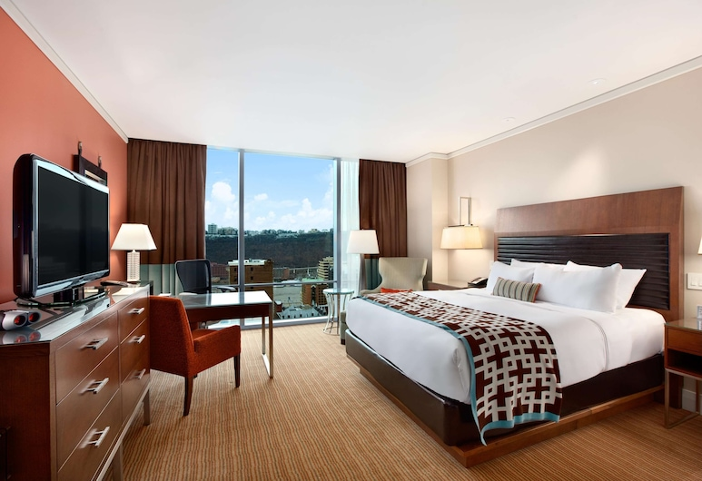 Fairmont Pittsburgh, Pittsburgh, Room, 1 King Bed, City View (Fairmont Room), Guest Room