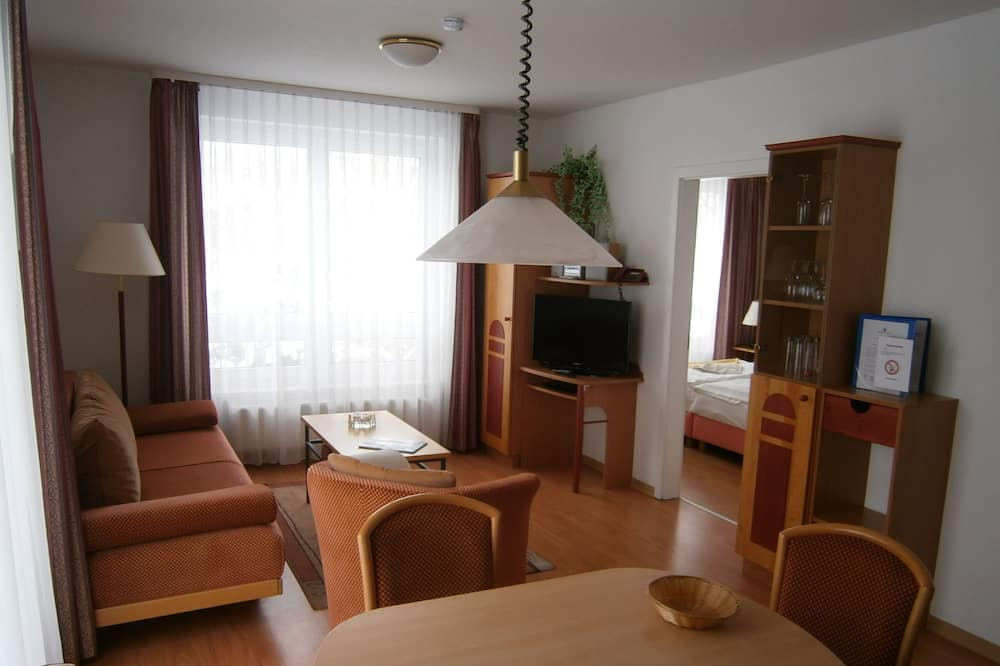 Komforta dzīvokļnumurs, viena guļamistaba, balkons - Dzīvojamā zona