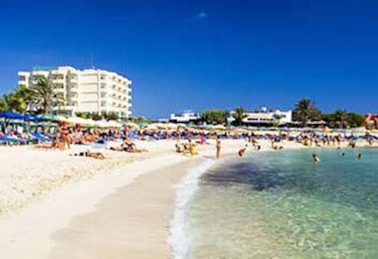 塔夏瑪利斯山德斯酒店 - 只招待成人, 阿依納巴, 海灘