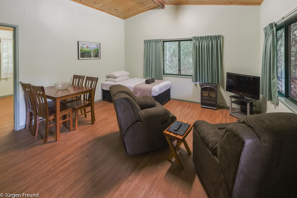 Rekreačná chata, 1 spálňa - Obývacie priestory