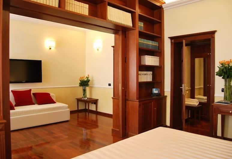 Ludovisi Luxury Rooms, Roma, Suite Deluxe, camere comunicanti, Camera