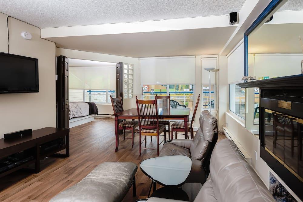 Apartman, 2 spavaće sobe (Ski-in/Ski-out) - Dnevni boravak
