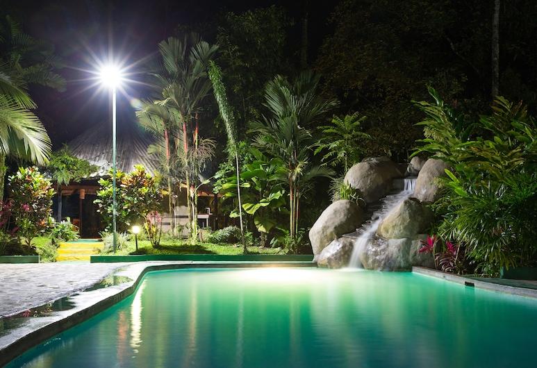 Hotel Kokoro Mineral Hot Springs, La Fortuna, Pool Waterfall