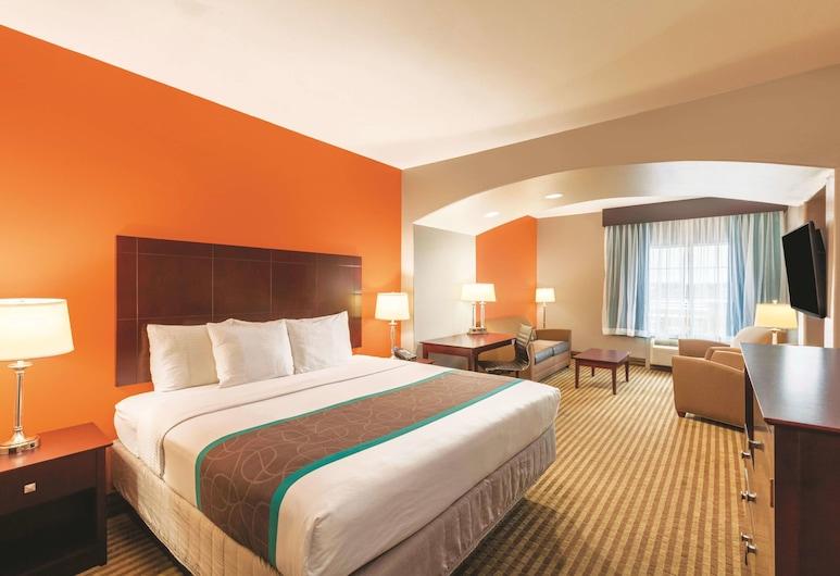 La Quinta Inn & Suites by Wyndham Houston Bush Intl Airpt E, Humble, Rum - 1 kingsize-säng - icke-rökare, Gästrum