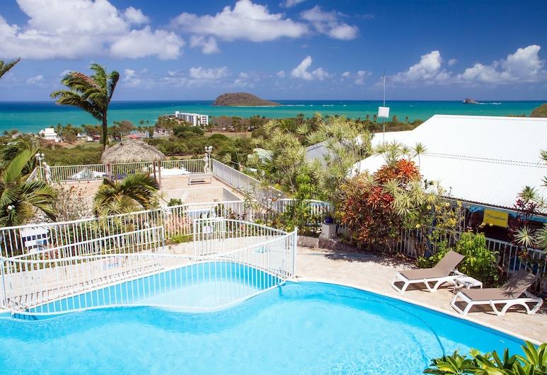 Résidence hôtelière Caraïbes Bonheur, Deshaies, Pool