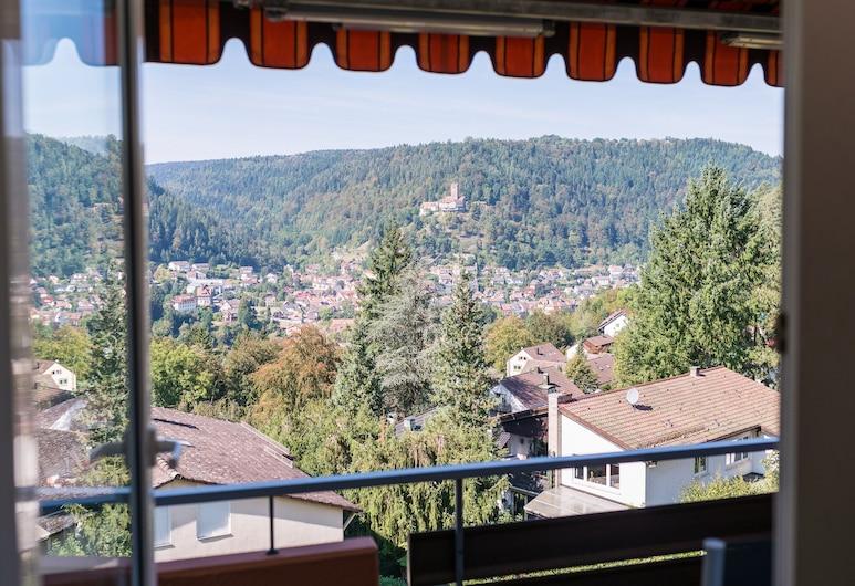 Aparthotel Hochwald, Bad Liebenzell, Standard-Einzelzimmer, Ausblick vom Zimmer