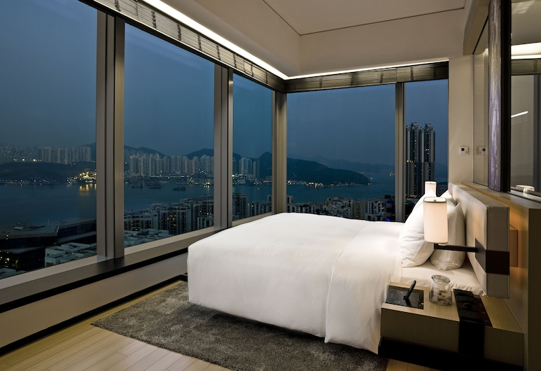 EAST Hong Kong, Hong Kong, Harbour Corner Room, Guest Room View