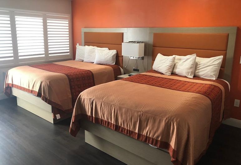 普雷西迪歐帕克威旅館, 三藩市, 特級客房, 2 張加大雙人床, 客房