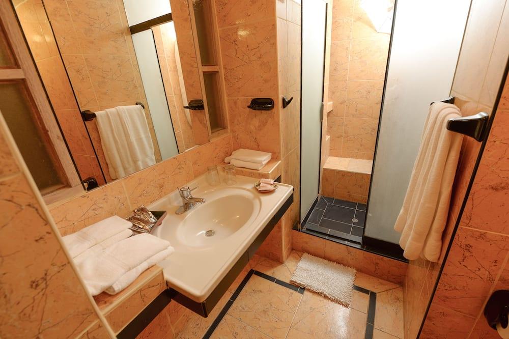 三人房, 3 張單人床 - 浴室