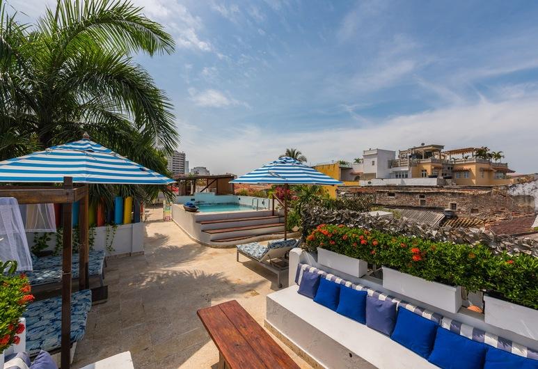 Bantu Hotel By Faranda Boutique, Cartagena, Udendørs pool