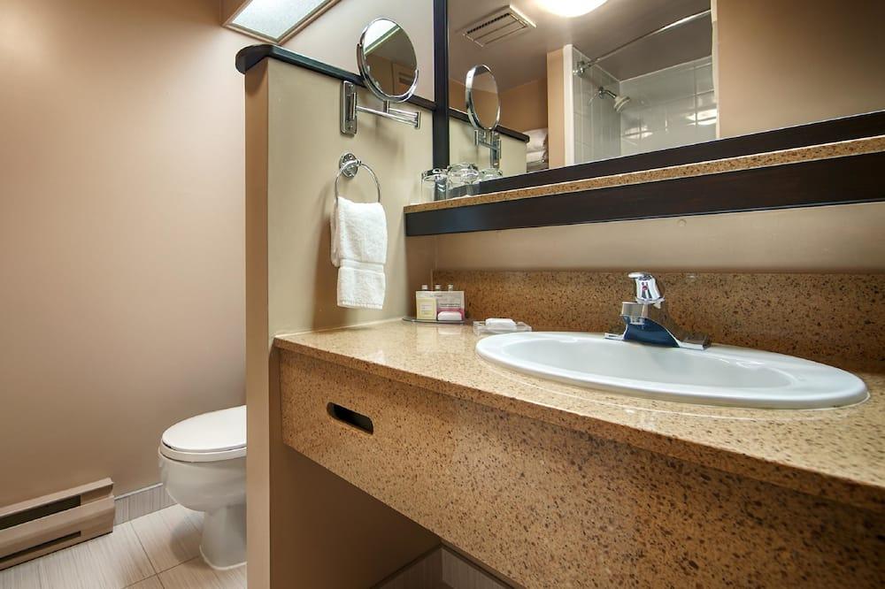 Standardní pokoj, 2 dvojlůžka (180 cm), bezbariérový přístup, lednička - Koupelna