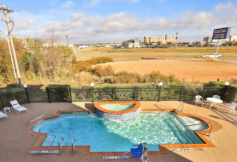 Sleep Inn & Suites, Abilene, Vanjski bazen