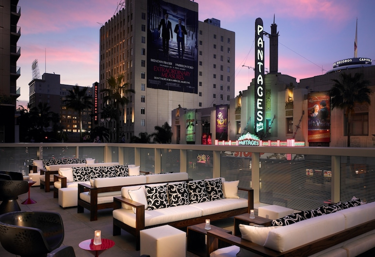 W Hollywood, Los Angeles, Terasa/trijem