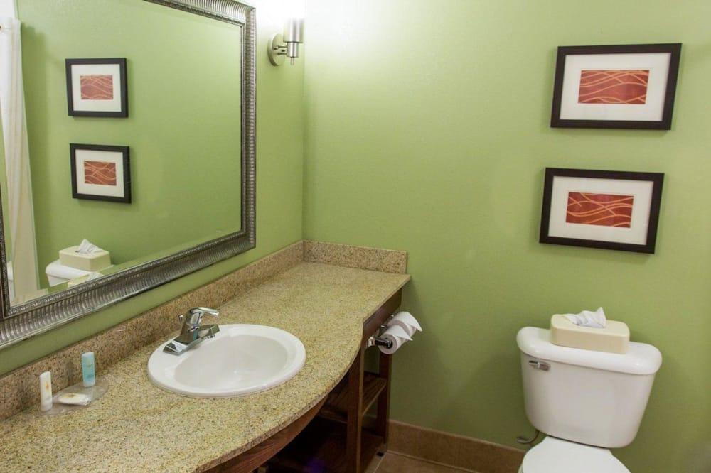 스탠다드룸, 킹사이즈침대 1개, 금연 - 욕실