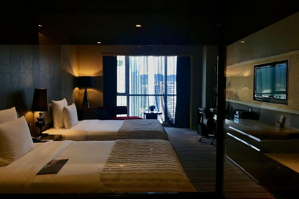 Номер «Делюкс», 2 односпальные кровати, вид на город - Вид на город