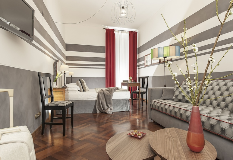 B&B all'Orologio, Rome, Quadruple Room, Guest Room