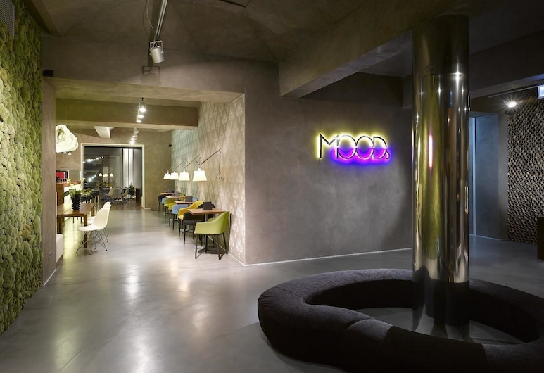 MOODs Boutique Hotel, Praag, Lobby lounge