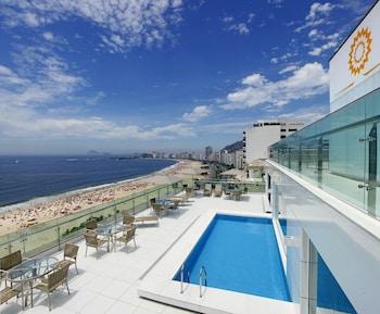 A(z) Arena Copacabana Hotel hotel fényképe itt: Rio de Janeiro
