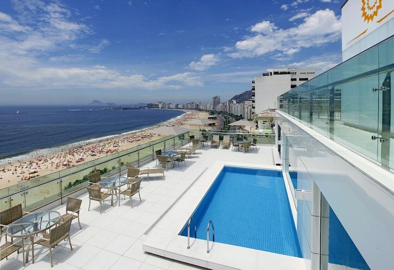 Arena Copacabana Hotel, Rio de Janeiro, Takterrasse med basseng
